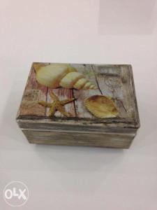 Decoupage kutija za nakit