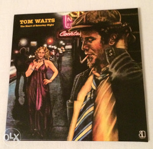 TOM WAITS - The Heart Of Saturday Night (cardboard)