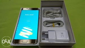 Samusng Galaxy S6 EDGE PLUS gold,kao novo,fullpakovanje