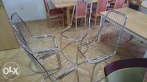 Stolice metalne 4 komada