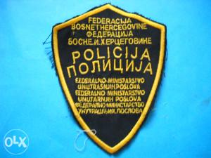 Amblem Policija FBiH