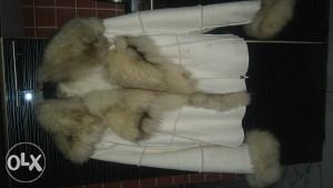Polarna lisica BUNDA prirodno krzno!