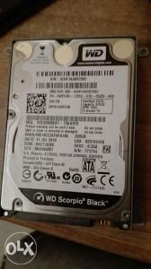 "WD Scorpio Black 320GB 2.5"" HDD SATAII"