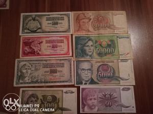 Novcanice Jugoslavenski Dinari