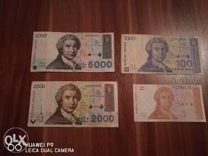 Novcanice Hrvatski Dinari