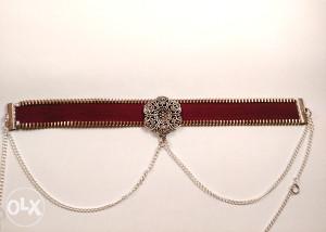 No.3 Unikatni Choker Zipper