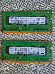 Ram memorija za laptop 2GB Samsung DDR3