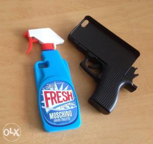3D iPhone 5 5s 5c SE pistolj futrola oklop maska
