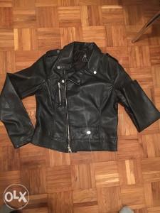 Crna kožna jakna, Atmosphere, nova, S/M