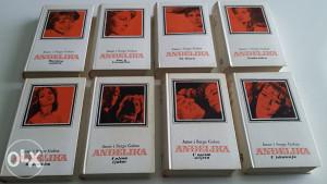 Anne i Serge Golon - Anđelika - komplet 8 knjiga