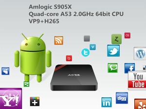 A95X android TV box 1GB 8GB,android 6.0,besplatan IPTV
