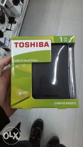 Toshiba externi HDD 1tb usb 3.0