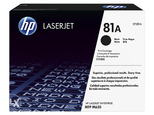 LaserJet 81A ( CF281A)