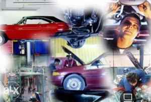 Kolekcija tečajeva za popravak auta-3DVD