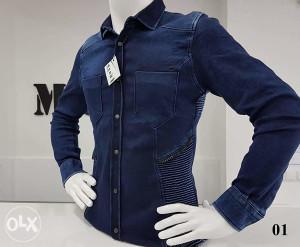 Košulja muška DENIM 01