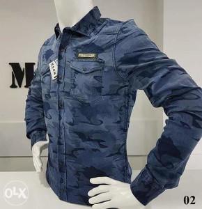 Košulja muška DENIM 02