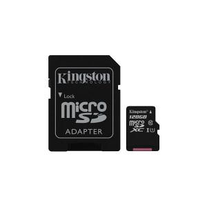 MEM SD MICRO 128GB Class 10 UHS-I   1ad KIN