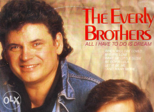 THE EVERLY BROTHERS-ALLI HAVE TO DO IS DREAM lp