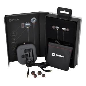 Slušalice Buxton BHP 6000, Srebrna