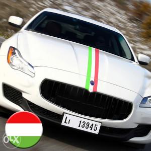 ITALIJANSKA zastava ITALY naljepnica stiker za auto