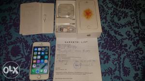 IPhone SE GOLD 16gb 2gb rama NOVO 10 mjeseci garancija