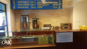 Kebab-giros profesionalna oprema I inventar