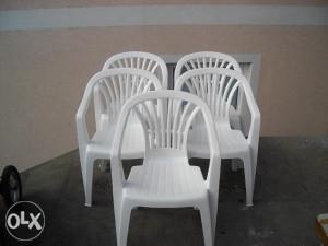 Stolice - 5 Komada