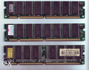 SDRAM PC133 2x128MB