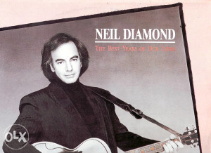 NEIL DIAMOND-THE BEST YEARS OF OUR LIVES lp