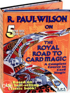 R. Paul Wilson on the Royal Road To Card Magic-DVD DL