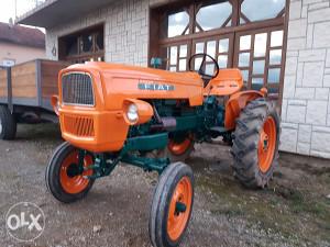 Traktor fiat  dva klipa imt zetor