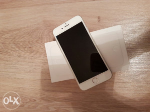 Iphone 6 128 128gb silver full oprema