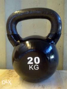 GIRJA 20kg KETTLEBELL Rusko zvono Girja Ruska zvona
