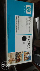 Hp color laserjet toner