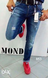 Pantalone muške D&G 053