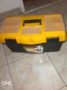 kutija za alat, dvodjelna, polovna, odlično očuvana