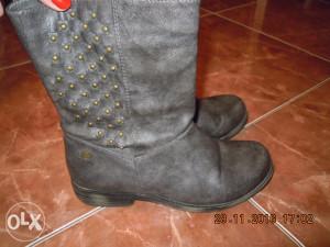 kozne sive cizme