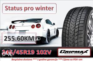 245 45 19 102V GRIPMAX Status pro winter R19