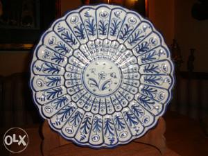 Ukrasni unikatni keramički tanjir