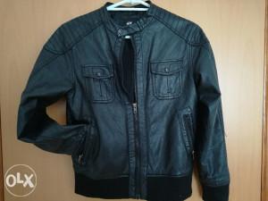Kožna jakna H&M