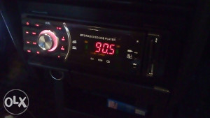 Radio (usb,aux, sd card)
