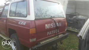 Nissan patrol 3.3 dizel zagubljeni papiri