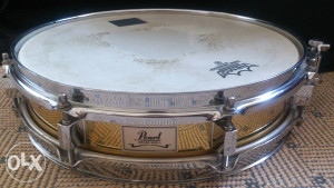 Pearl brass snare 13x3