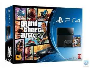 Sony PlayStation 4 + GTA 5 PS4