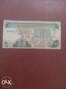 Novčanica Mauritius