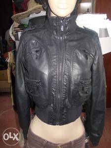 Ženska kožna jakna vel.S