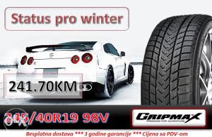 245 40 19 98V GRIPMAX Status pro winter R19