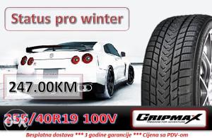 255 40 19 100V GRIPMAX Status pro winter R19