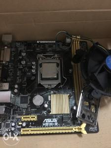 Maticna i procesor Asus Asus H81M-R Intel G1840