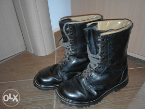 Vojne čizme - Njemačka koža